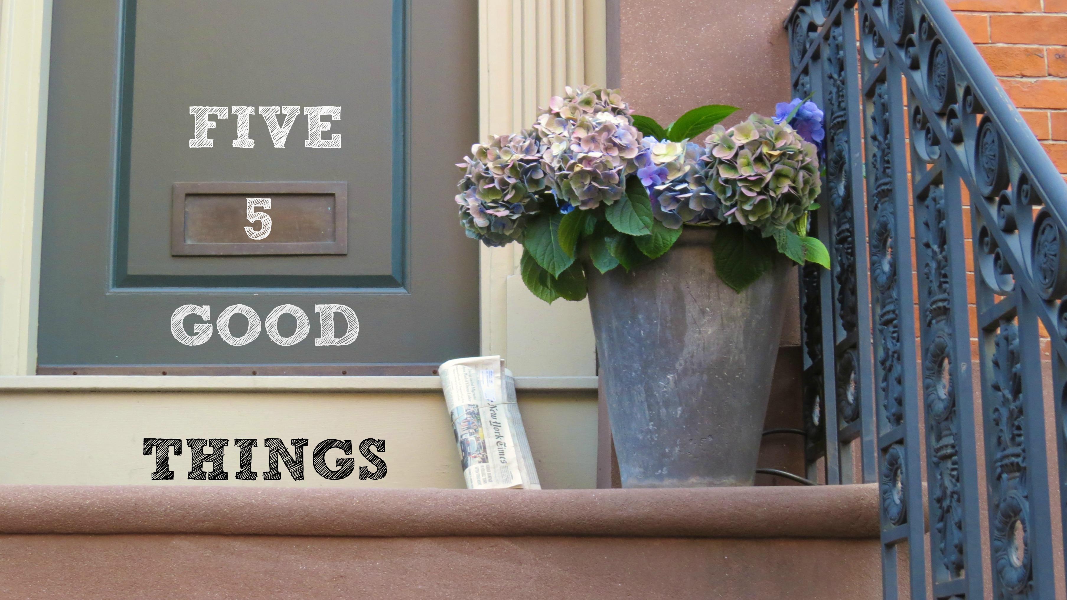 five good things logo