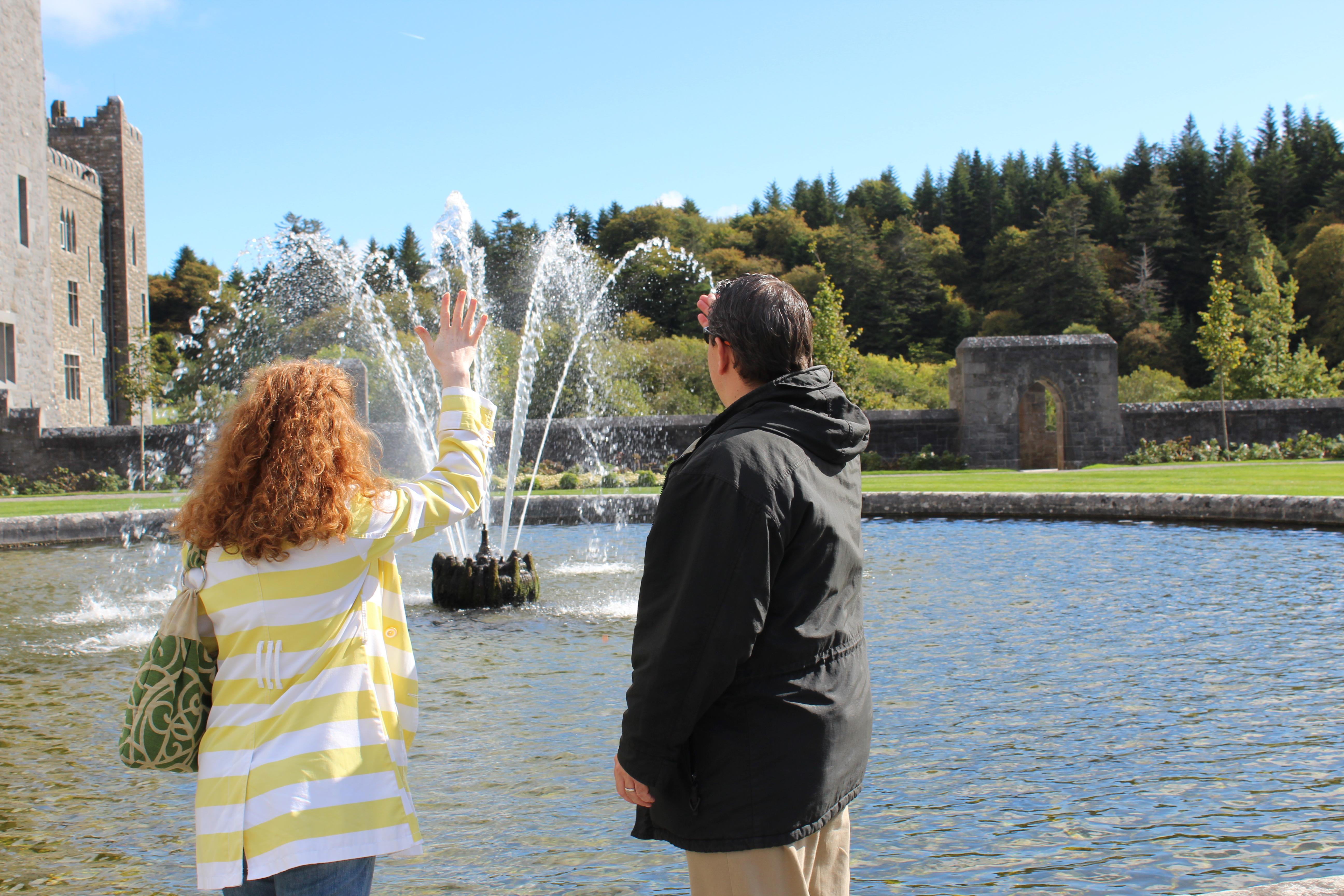 ashford castle fountain wish