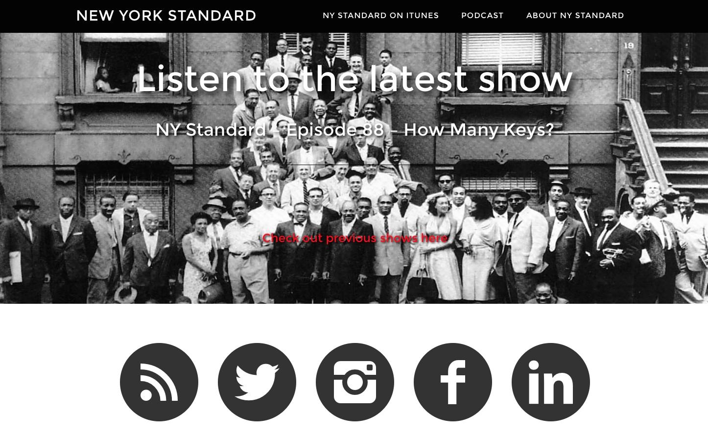 New York Standard podcast